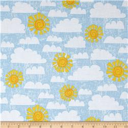 Dandy Dinos Crackle Sky Light Blue