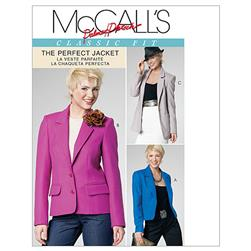 McCall's Misses' Lined Jackets in 3 Lengths Pattern M6172 Size BB0