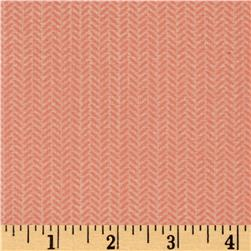 Moda Lullaby Herringbone Peach