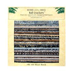 Bali Batik 10'' Crackers River Rock