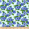 Lennie Honcoop Prairie Gate Morning Glories Lt. Blue
