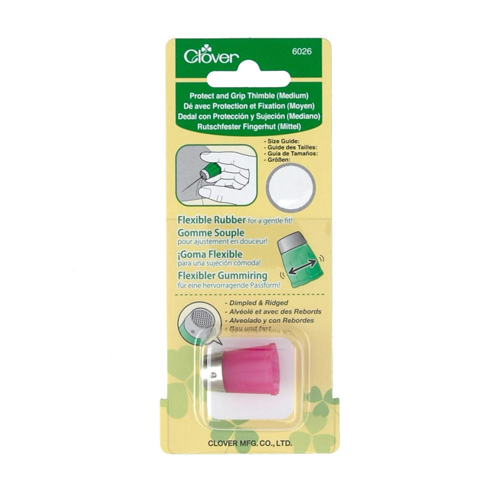 Clover Protect & Grip Thimble Medium-