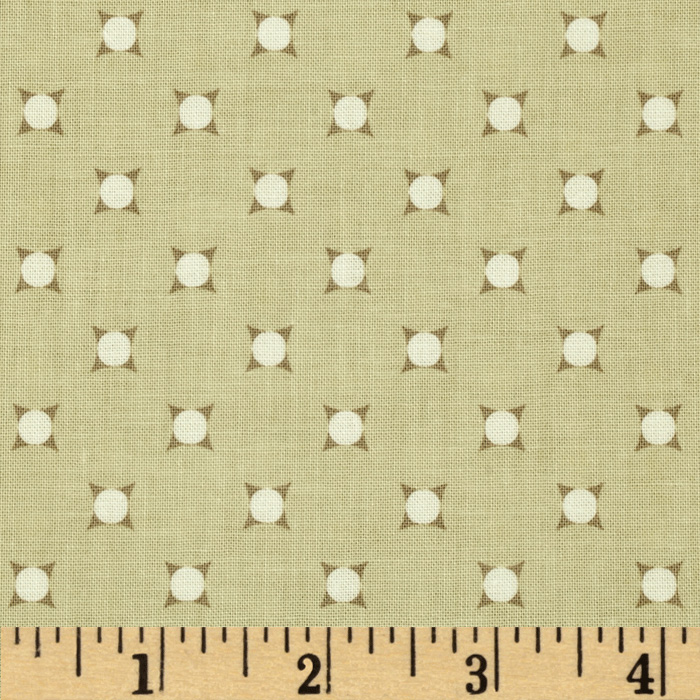 Riley Blake Vintage Verona Dots Tan
