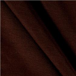Rayon Spandex Jersey Knit Chocolate