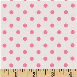 Michael Miller Neo Dot Pink Fabric