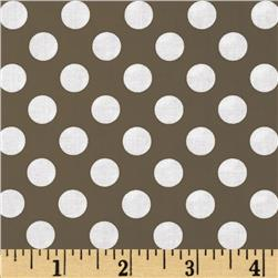 Michael Miller Ta Dot Taupe Fabric