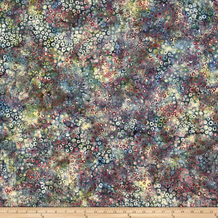 Bali Batiks Handpaints Static Dots Oasis