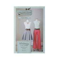 Whitney Misses Trouser & Skirt Pattern