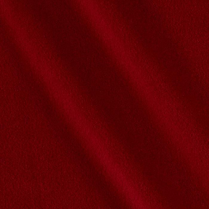 Velour Solid Red