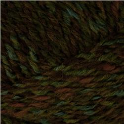 Lion Brand Tweed Stripes Yarn (216) Ozarka Forest