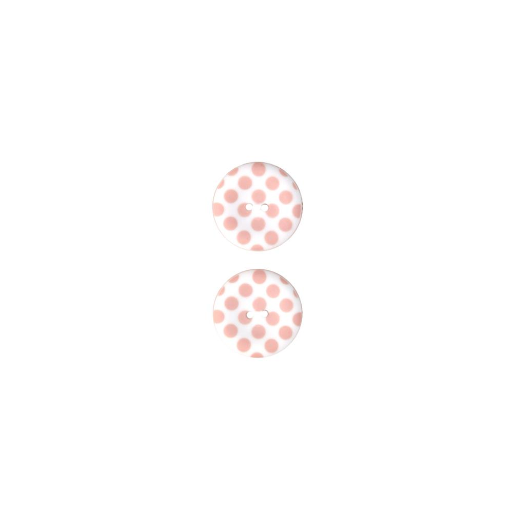 Riley Blake Sew Together 1 1/2 Matte Button Dots Baby Pink
