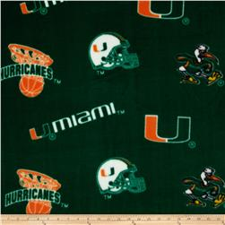 Collegiate Fleece University of Miami Orange