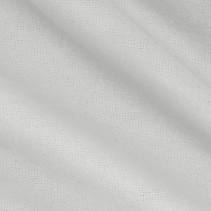 Kaufman Flannel Solid White Fabric