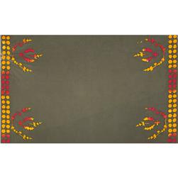 Alison Glass Handcrafted 2 Batik Crest Border Gray