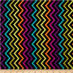 Michael Miller Mini Chic Chevron Jewel Fabric