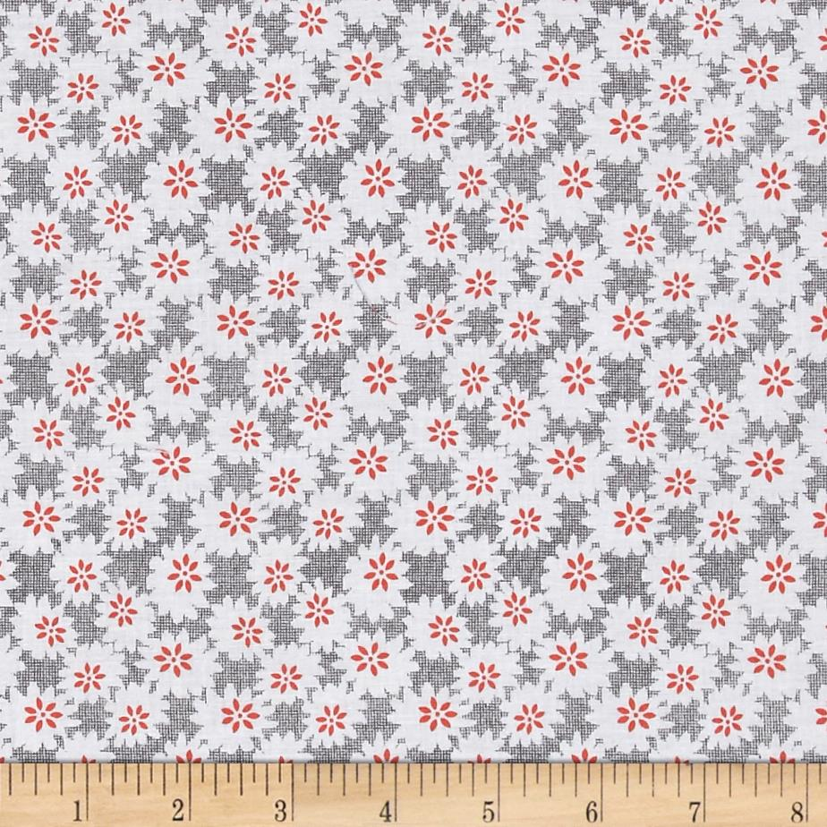 Penny Rose Linen and Lawn Daisy Gray