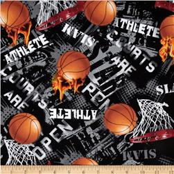 Kanvas All Stars II Basketball Black Fabric
