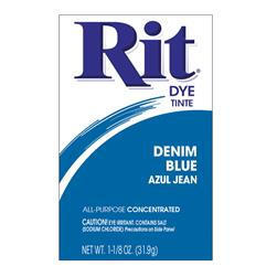Rit Dye Powder Denim Blue