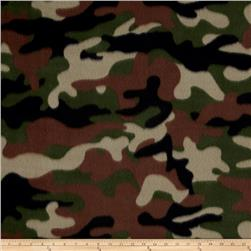 Camo Fleece Brown Multi