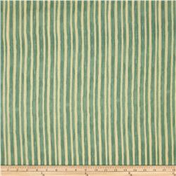 Paris Panache Stripe Green/Cream