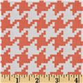 Michael Miller Everyday Houndstooth Peach