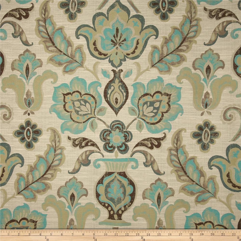 Richloom Fruition Jacquard Turquoise