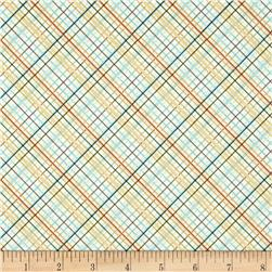 Riley Blake Offshore Plaid Tan