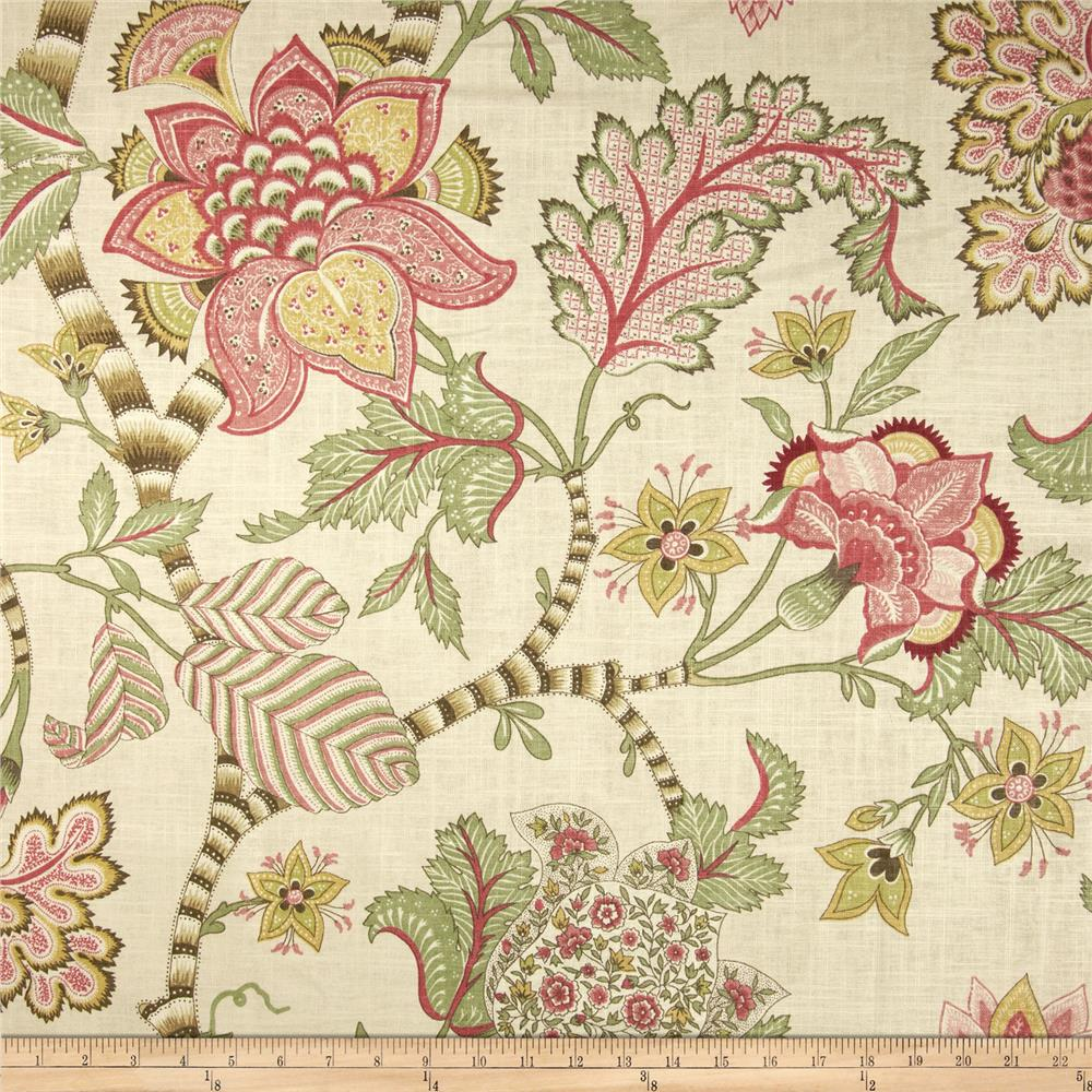 P kaufmann clarice english cream discount designer for Decor 55 fabric
