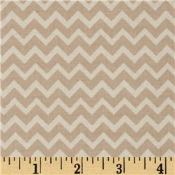 Riley Blake Camp a Lot Chevron Cream
