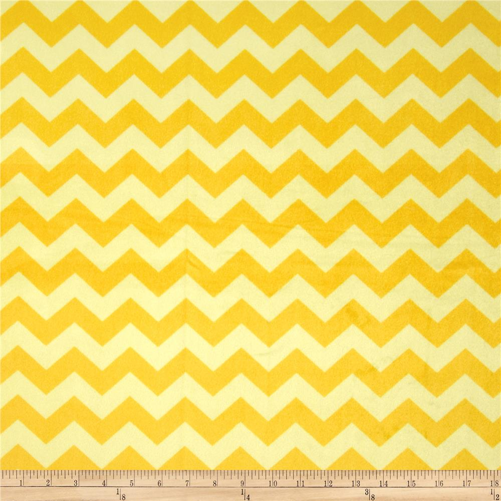 Riley Blake Dreamy Minky Medium Chevron Tone on