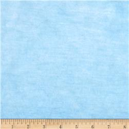 Plush Faux Fur Baby Blue Fabric