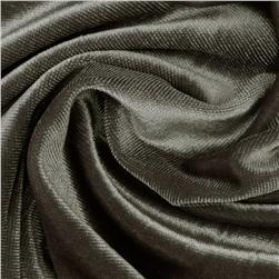 Stretch Velvet Knit Charcoal
