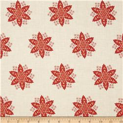 Riley Blake A French Courtyard Floral Red