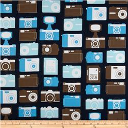 Boys Toys Cameras Blue/Brown