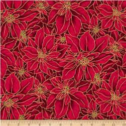 Christmas Basics Poinsettia Red