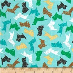 Paw Pals Origami Dogs Blue