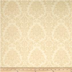 Chenonceau Flannel Damask Cream