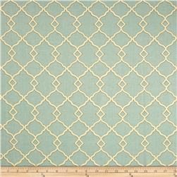 Waverly Chippendale Fretwork Sateen Mist