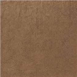 Fabricut 03344 Metallic Faux Leather Chestnut