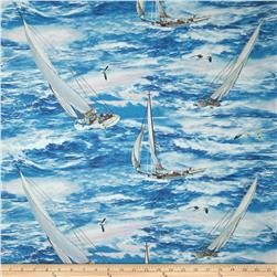 Wind and Waves Sailing Allover Multi