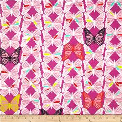 Cotton & Steel Moonlit Monarch Pink Fabric