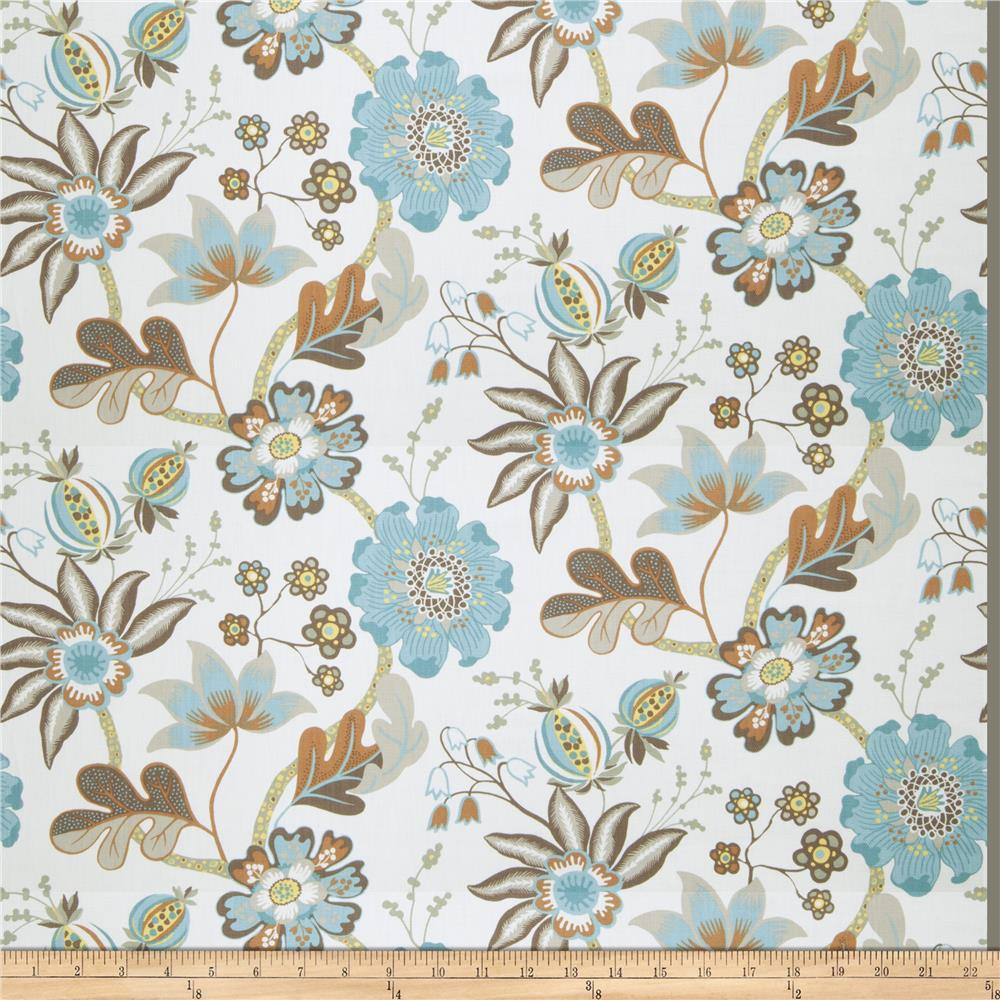 Fabricut This Kiss Turquoise