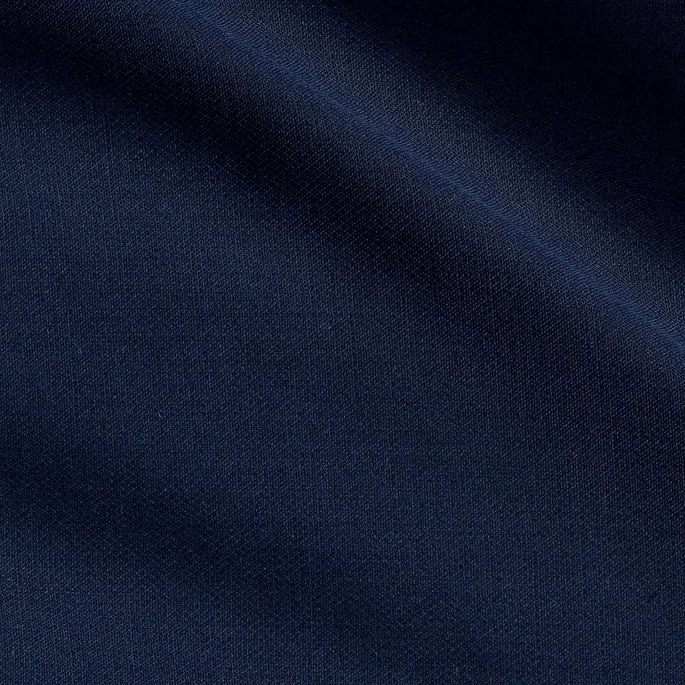Solid Stretch Tricotine Suiting Navy