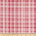 Poppy Garden Garden Plaid Raspberry