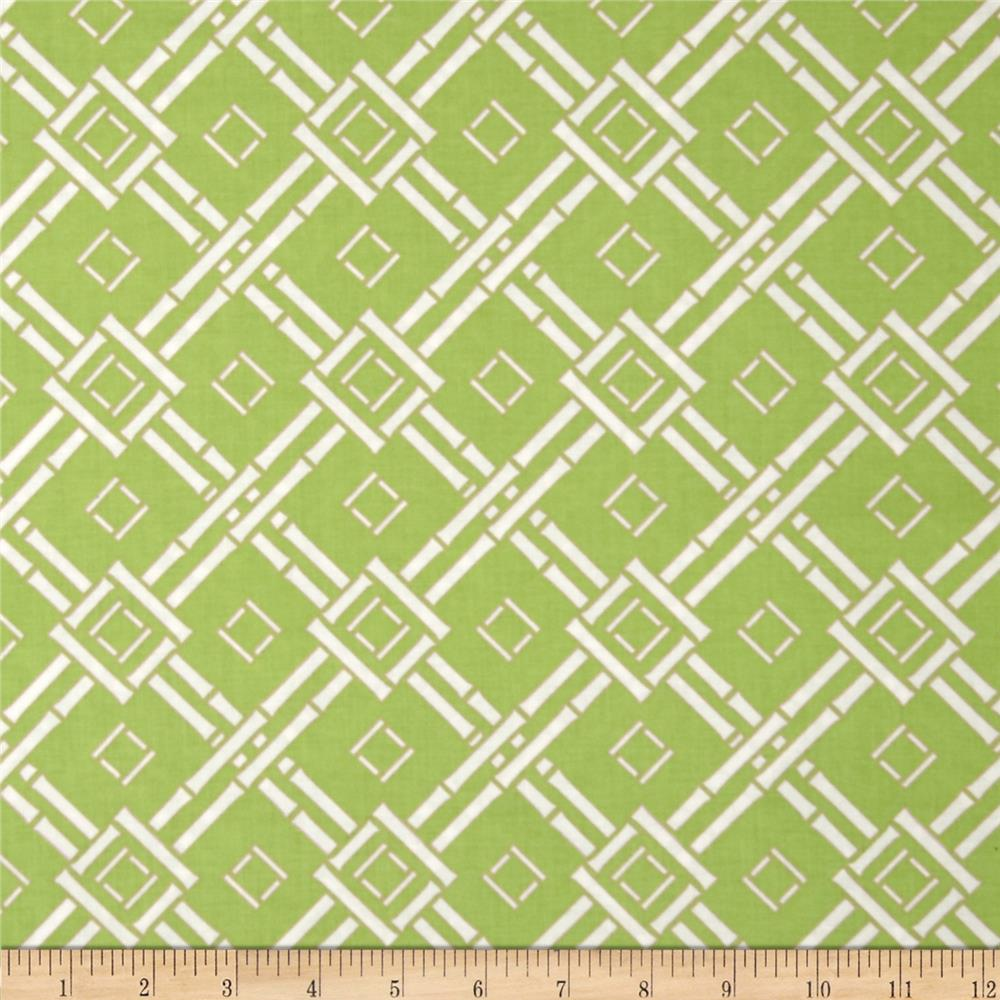 Chinoiserie Chic Espalier Green Discount Designer Fabric