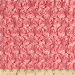 Minky Rose Cuddle Coral