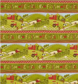 Farmland Repeating Stripe Multi