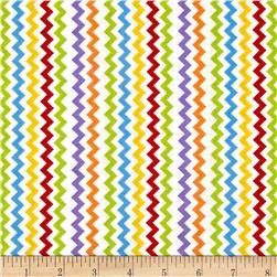 Space Age Chevron White/Multi