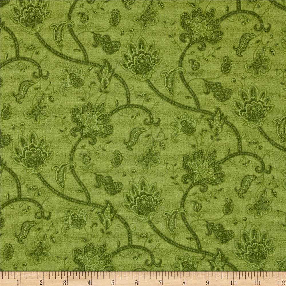 Tis The Season Tapestry Vine Green
