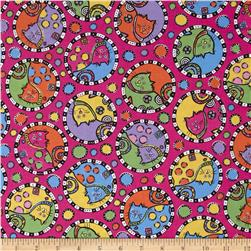 Kool Kats Tossed Cats Pink/Multi